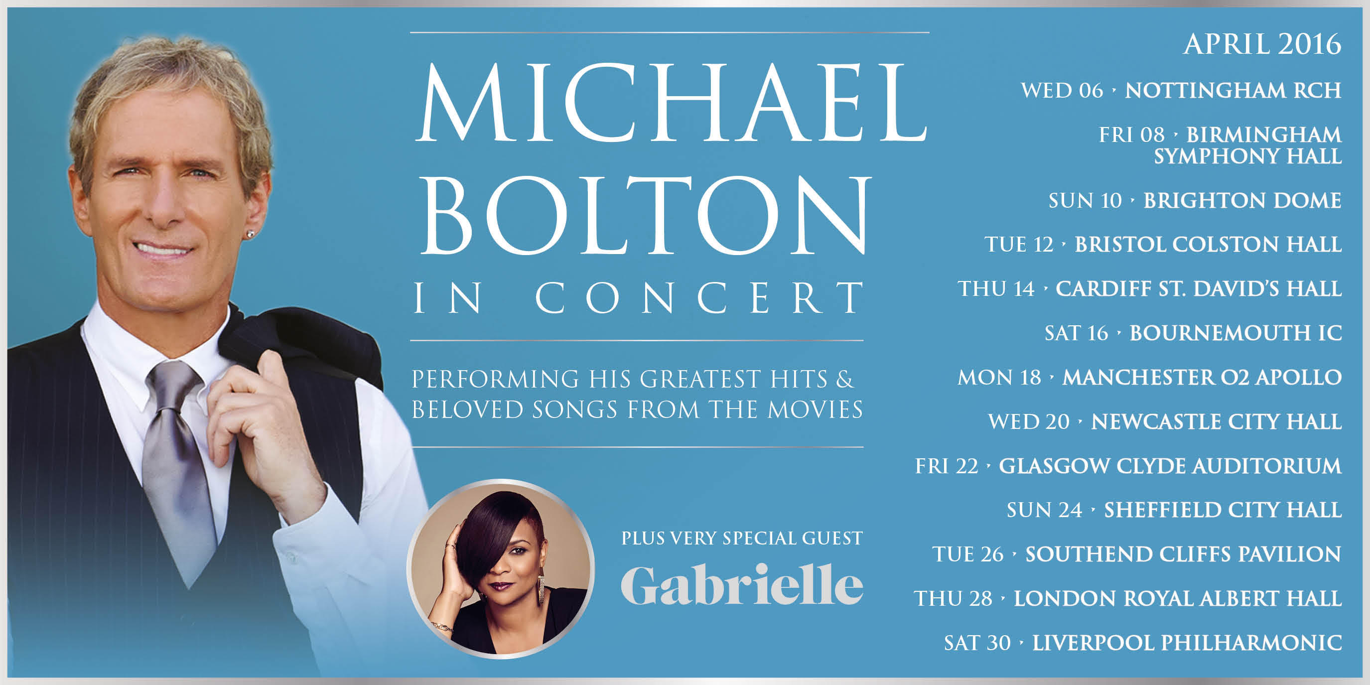 Michael Bolton Tour