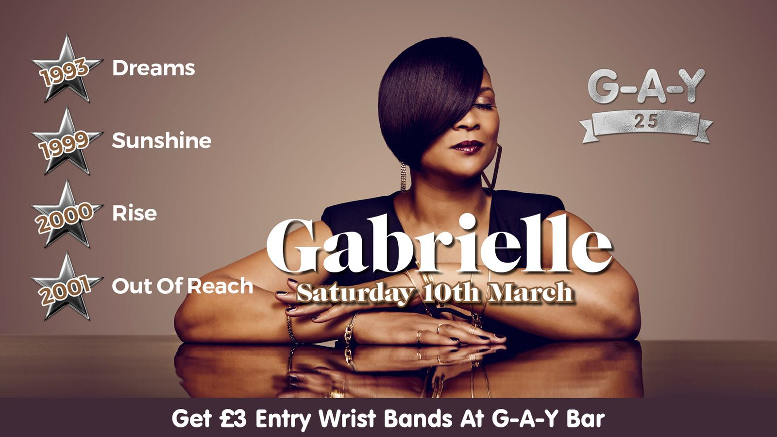 In Concert: G-A-Y Heaven 25 – March 10